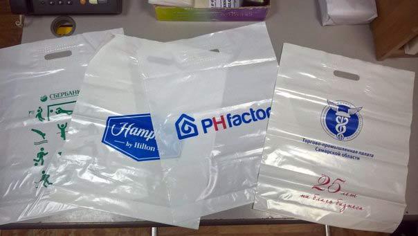 печать на пакетах шелкографией